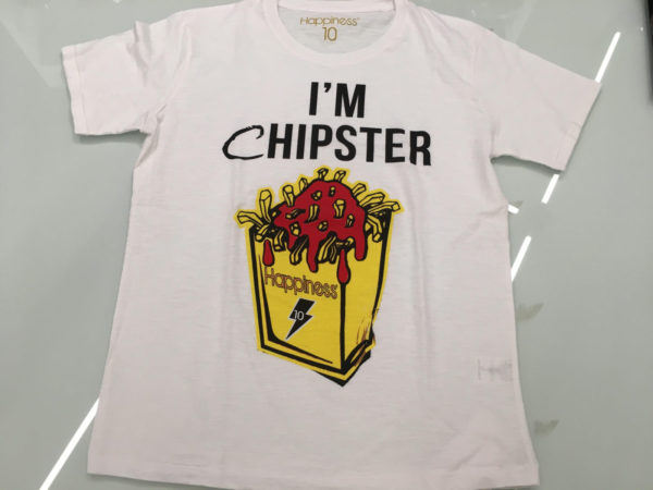 T-SHIRT CHIPSTER 1 FRONTE