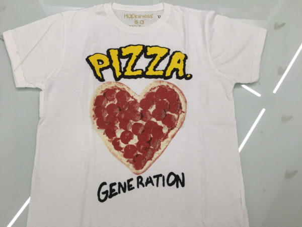 T-SHIRT PIZZA 2