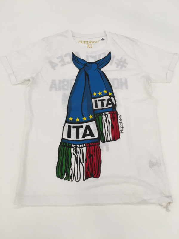 t-shirt Italia fronte
